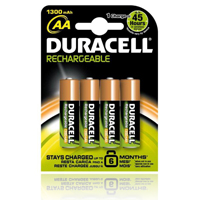 Duracell StayCharged Batteries