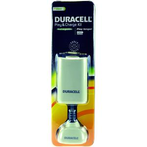 Duracell Play & Charge kit in white