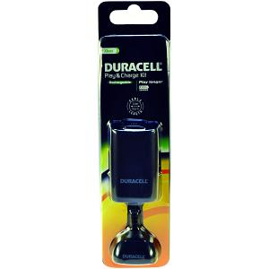 Duracell Play & Charge kit in black