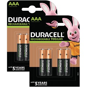Duracell Pre-Charged AAA 800mAh 8 Pack