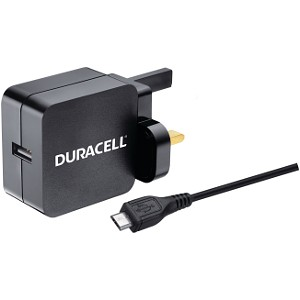 Duracell 2.4A Wall Charger & 1M Micro USB Cable (BUN0075A)