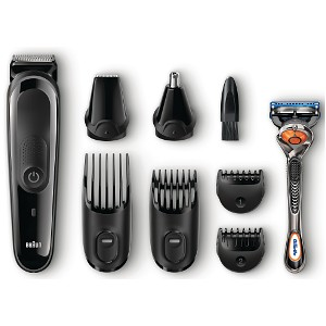 Braun MGK3060 8-in-1 Face and Head trimming kit