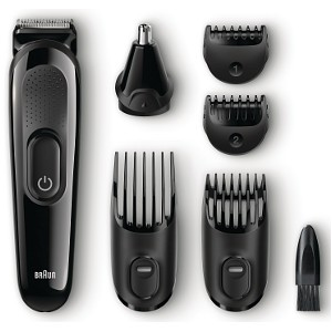 Braun MGK3020 6-in-1 Face and Head Trimming Kit