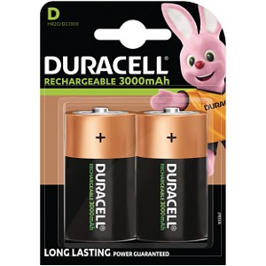 Duracell Rechargeable D Size batteries