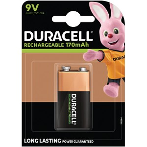 Duracell Rechargeable 9V single