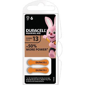 Duracell 1.4v Hearing Aid Battery