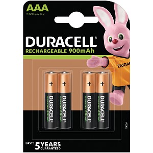 Duracell StayCharged AAA 4 Pack