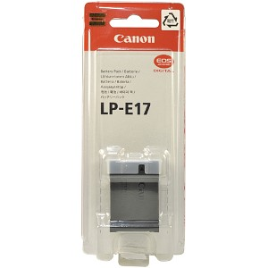 Original Canon LP-E17 Battery