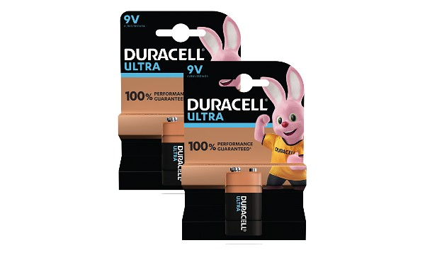 Duracell Ultra 9V  Twin Pack