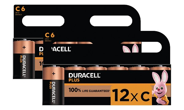 Duracell Plus C Size (12 Pack)