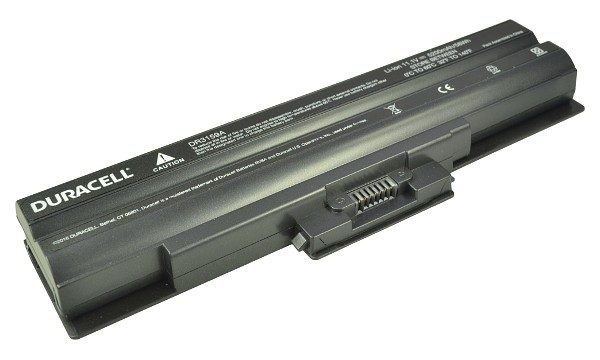 Vaio VGN-CS51B/W Battery (6 Cells)