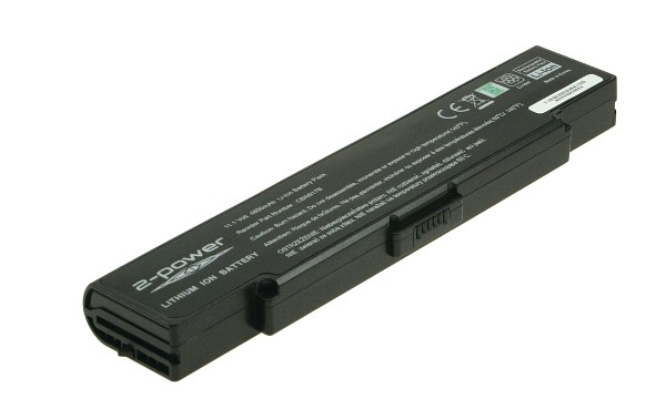 Vaio VGN-SZ2XP/C Battery (6 Cells)